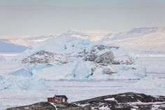 A view from Ilulissat.
