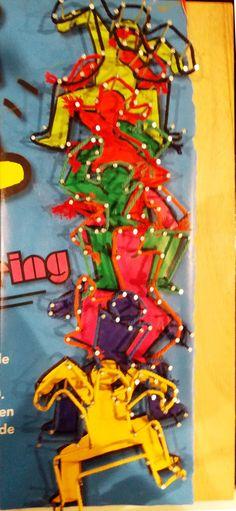 Keith Haring draadfiguur