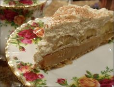 Banoffee Pie from inthekitchenwithpolly