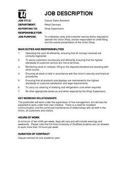 Job Description Template Google Search Business