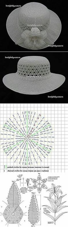 The 12 best crochet hats charts images on pinterest crochet hats 1 kho chart an mc may v ca m beo crochet capsun ccuart Gallery