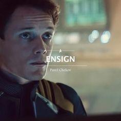 Chekov is my crush forver