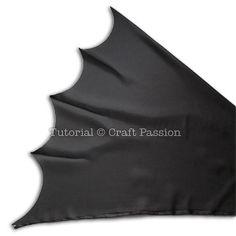 Batman Superhero Cape - Free Sewing Pattern   Craft Passion Batman Dress, Batman Cape, Batman Outfits, Sewing Patterns Free, Free Sewing, Sewing Ideas, Kids Cape Pattern, Batman Costume For Kids, Cape Tutorial