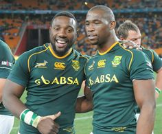 Springboks' Beast and Siya South African Rugby, Rugby Players, Black History, Kiwi, My Hero, Beautiful People, Strength, Survival, Knowledge