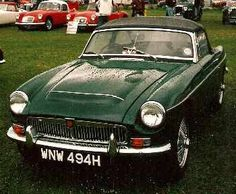 MGC profile, MGC buying guide, MG enthusiasts, MG owners, V8 Register, MG Car Club