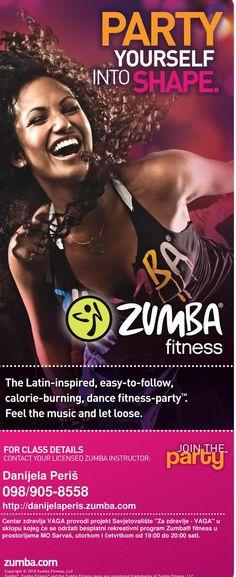 MO Sarvaš: Besplatni Zumba fitness