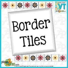 """Digital scrapbooking video """"Border Tiles"""" from pixels2Pages.net. Learn how to easily arrange your digital embellishments for fun page borders using tools in Panstoria's Artisan digital design software. Members-only link; visit www.pixels2Pages.net to sign up for a free trial to view this and hundreds of other inspirational and educational offerings."""