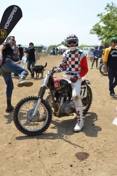 3May'14 Hell On Wheels in JAPAN / vintage motocross / buddy custom cycles hp / ruby / triumph