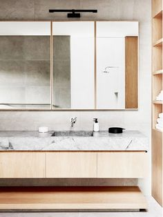 What we told them: Seamless cabinets are kitchen or bathroom cabinets that are completely flat and devoid of any embellishments or handles. They most often come in glossy colors but can also be...