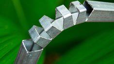 Metal Bending, Metal Working Tools, Mythical Creatures Art, Metal Fabrication, Garden Chairs, Welding Projects, Door Design, Blacksmithing, Inventions