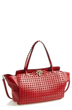 4c0e7d9fe9c4 Women s Handbags   Bags   Valentino  Rockstud  Leather Tote - Fashion  Inspire