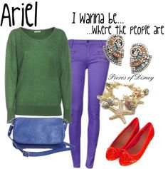 """""""Casual Ariel"""" by madeleinewert on Polyvore"""