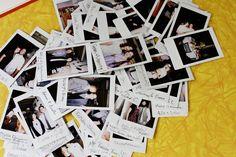 Instax Mini Guest Book Custom Wedding Photo Album Vegan Leather Guestbook Design No.34