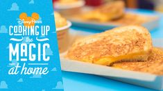 April is National Grilled Cheese Day, so we're sharing a delicious grilled three-cheese sandwich recipe. This recipe comes from Woody's Lunch Box at our Disney Hollywood Studios. Disney Food, Disney Parks, Disney Recipes, Walt Disney, Disney Tips, Disney Cruise, Disney Magic, Quesadillas, National Grilled Cheese Day