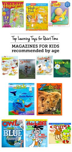 MPMK Gift Guide: Top Learning Toys for Quiet Time & Independent Play The kids magazines for quiet time or special time – great ideas so mom can get stuff done or spend some one on one time with a sibling. My toddler and preschooler absolutely love getting Parenting Classes, Good Parenting, Toddler Preschool, Toddler Toys, Magazines For Kids, Special Needs Kids, Learning Toys, Reading Activities, Getting Things Done