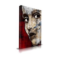 'I'm Watching You' Graphic Art on Wrapped Canvas