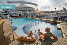 Royal Caribbean Oasis of the Seas     A good place to hang out on port days while everyone else is off the ship.