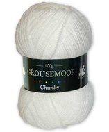 Grousemoor Chunky - White