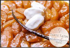 Tarte Tatin / karamellisierter Apfelkuchen von Culture Food