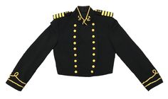 A personal favorite from my Etsy shop https://www.etsy.com/listing/458685058/thorngate-uniforms-military-jacket-black Military, civil war, vintage, jacket, coat, madonna, Michael Jackson, lady Gaga, Coachella