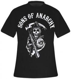 T-Shirt Mec SONS OF ANARCHY - Classic Logo