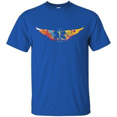 Colorful EMS Wings Unisex Ultra Cotton T-Shirt