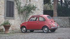 Fiat 500 an old Italian Car