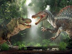 Jurassic World possibile scontro tra T-Rex e Spinosauro? Dinosaur Facts, Real Dinosaur, Dinosaur Photo, Dinosaur Images, Dinosaur Pictures, The Good Dinosaur, Cute Dinosaur, Dinosaur Fight, Jurassic World