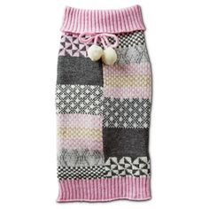 Smoochie Pooch Patchwork Dog Sweater at PETCO