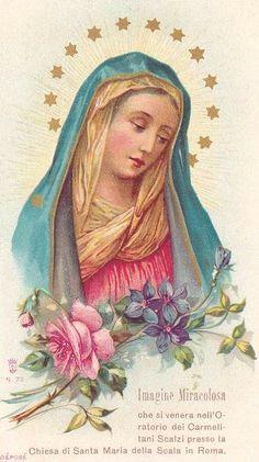 Madonna card