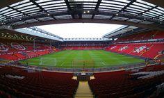 Anfield Road es el estadio de Liverpool de Inglaterra.
