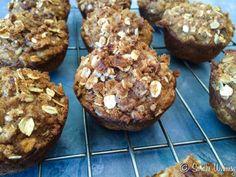 Healthy Oatmeal Pumpkin Muffins