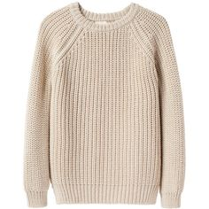 Collection by Giada Forte Split Hem Pullover ($250) ❤ liked on Polyvore featuring tops, sweaters, shirts, jumpers, crew neck sweaters, pink shirts, raglan shirts, short sweater and wool sweaters
