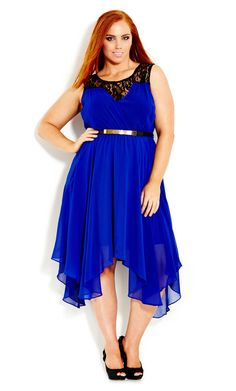 Layer Keyhole Dress | Plus Size Special Occasion Dresses | OneStopPlus