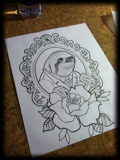 sloth tattoo - Google Search