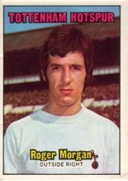 Nigel's Webspace - A&BC Chewing Gum - 1970/71, Footballers, Orange backs, Tottenham Hotspur