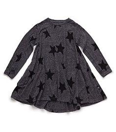 NUNUNU Charcoal Star Dress