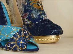 Russian influenced Shoes - Hannah Dart