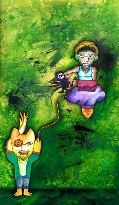 Femputadora y Super Beta Teto's Illustration!