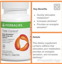 Herbalife Total Control Benefits