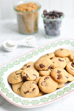 Chocolate Chip Gingerbread Cookies | Eat, Little Bird