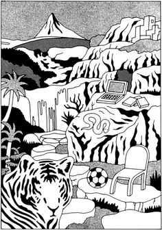 #Illustration by Hisashi Okawa