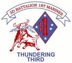 The Thundering Third Marine Corps Emblem, Marines, Captain America, Third