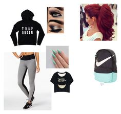 """""""run"""" by thomas-patricia on Polyvore featuring beauty and NIKE"""