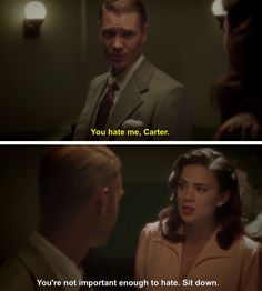 Image uploaded by Find images and videos about Marvel, peggy carter and chad michael murray on We Heart It - the app to get lost in what you love. Peggy Carter, Agent Carter, Hayley Atwell, Marvel Heroes, Marvel Avengers, Marvel Gems, Avengers Texts, Marvel Funny, Stan Lee