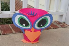 Fun owl themed beanbag toss game @Mommy and Me Book Club