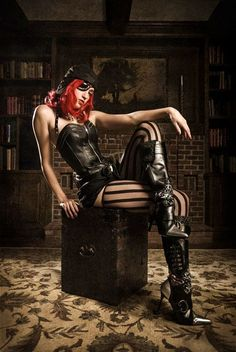 50 Steamy and Intriguing Steampunk Girls