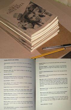 Tulisan pertama saya yang diterbit circa 2011: Antologi Surat Cinta Kita (ihsan gambar dari laman binfilem)