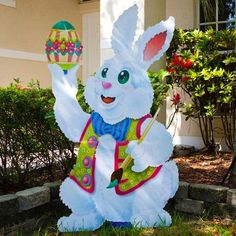 Outdoor Easter Decorations Ideas To Make (29)
