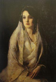 Princess Brinda Devi of Kapurthala by Philip de Laszlo (1896-1937)